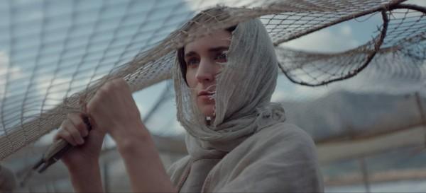 A atriz Rooney Mara no papel de Maria Madalena (Foto: Divulgação)