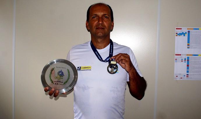 Paulo se dedica à canoagem há 26 anos (Foto: Divulgação/PMAR)