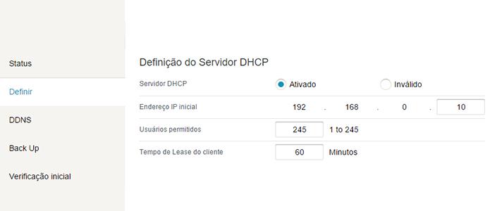 Configure IPs dinâmicos no roteador (Foto: Reprodução/Paulo Alves)