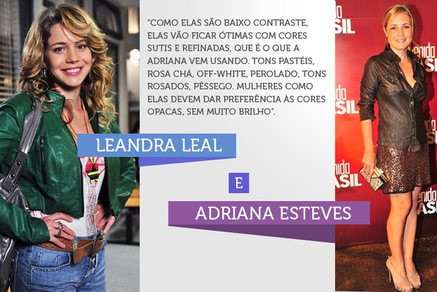 Leandra Leal (Foto: Mais Voc&#234; / TV Globo)