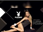 Luana Piovani posa de coelhinha da 'Playboy' e recebe elogios