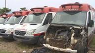 Apenas duas ambulâncias do Samu funcionam em Porto Velho