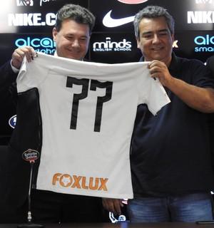 Camisa do Corinthians (Foto: Marcelo Braga)