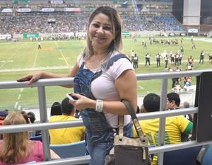 Marcia, Arena Pantanal, Cuiabá Arsenal (Foto: Derik Bueno)