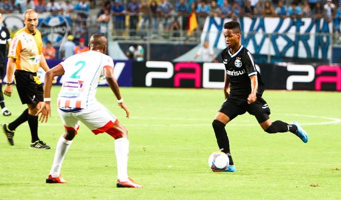 Wendell contra o Passo Fundo (Foto: Lucas Uebel/Grêmio, DVG)
