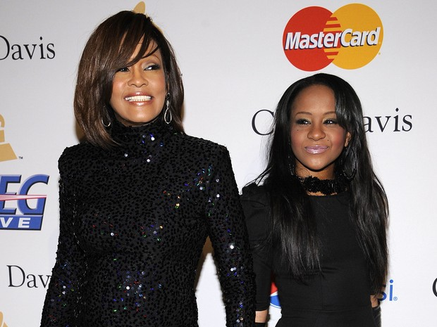 Whitney Houston e Bobbi Kristina (Foto: Agência Reuters)
