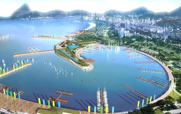 Marina da Glória instalações Rio 2016 (Foto: Divulgação)