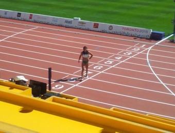 Ana Cláudia lesão atletismo Jogos Pan Americanos (Foto: Reprodução/ Twitter)