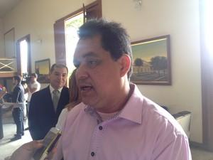 Secretário de Estado da Saúde, Jardel Nunes (Foto: Dyepeson Martins/G1)