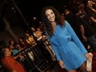 Débora Nascimento, Nathalia Dill, entre outros, assistem a filme