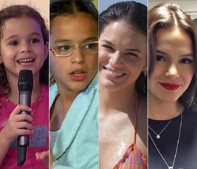 Olha como Bruna Marquezine cresceu na telinha da Globo (Foto: Divulgação/TV Globo)