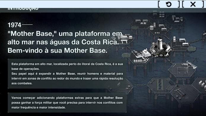 Mother Base é um simulador de construção e guerra (Foto: Thiago Barros/TechTudo)