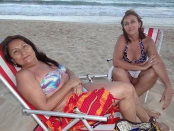 Turistas do Ceará afirmam que coceiras apareceram após banho no chuveirão (Foto: Luna Markman/ G1)