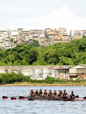 Equipe de Remo do Esporte Clube Vitória (Foto: Divulgação/EC Vitória)
