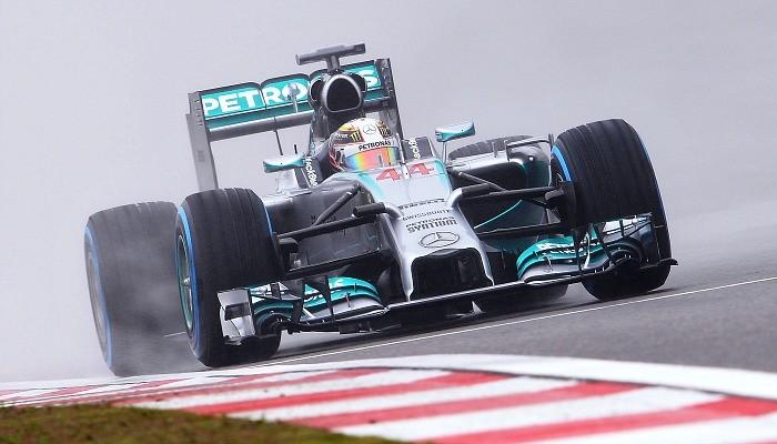 Lewis Hamilton pole GP da China