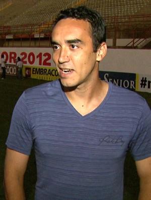 Tiago Alves zagueiro Mogi Mirim (Foto: Carlos Velardi / EPTV)