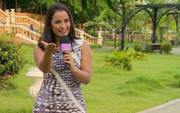 Ruthiene Bindá adianta novidades do Amazônia Revista (Foto: Rede Amazônica)