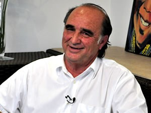 Hélio Machado, presidente interino do Mixto (Foto: Bárbara Taques/ GloboEsporte.com)