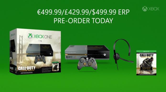 Bundle do Xbox One com Call of Duty: Advanced Warfare (Foto: Reprodução / Youtube)
