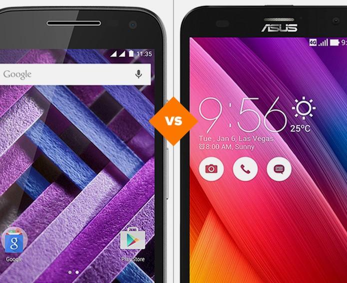 Moto G 3 ou Zenfone 2 Laser: conheça as diferenças entre os celulares (Foto: Arte/TechTudo)