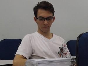 Leandro espera mesmo resultado que teve em última prova (Foto: Marcos Lavezo / G1)