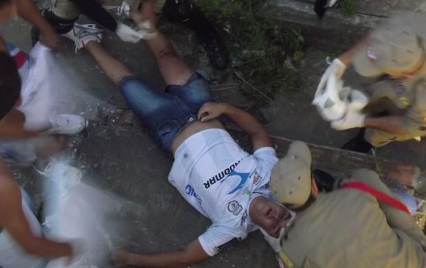 Acidente, Clássico dos Maiorais, Campinense, Botafogo-PB, Campeonato Paraibano, Paraíba (Foto: Silas Batista / Globoesporte.com/pb)