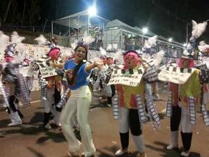 Real Grandeza carnaval 2015 Juiz de Fora (Foto: Roberta Oliveira/ G1)