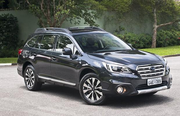 Novo Subaru Outback (Foto: Divulgação)