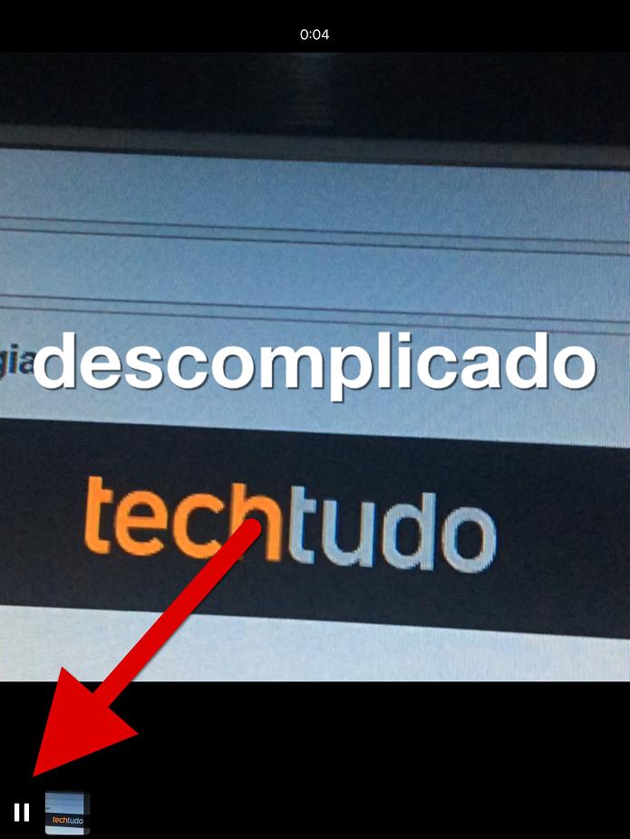 Pause o vídeo quando aparecer a palavra que você deseja editar (Foto: Felipe Alencar/TechTudo)  (Foto: Pause o vídeo quando aparecer a palavra que você deseja editar (Foto: Felipe Alencar/TechTudo) )