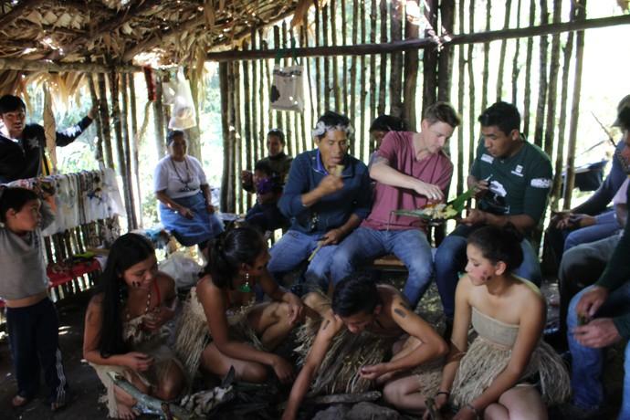 Mistura vai mostrar um pouco dos costumes de uma aldeia  (Foto: RBS TV/Divulgação )
