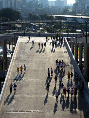 Copa das Confederações Calor - Torcida maracanã sol, México x Itália (Foto: Getty Images)