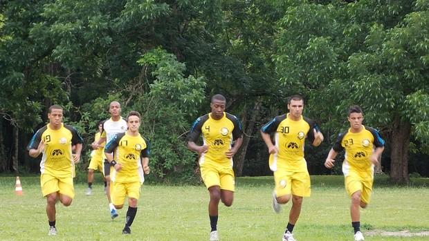 Primeiro treino da pré-temporada do Joseense para o Campeonato Paulista da Série A3 (Foto: Danilo Sardinha/Globoesporte.com)