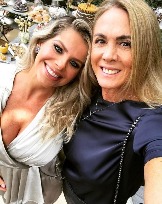 Karina Bacchi e Hortência (Foto: Reprodução/Instagram)