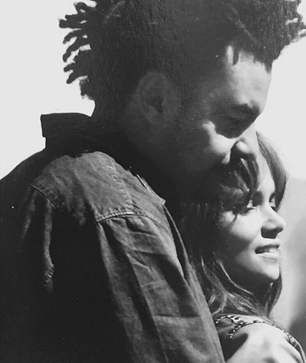 A atriz Halle Berry com o produtor Alex Da Kid (Foto: Instagram)