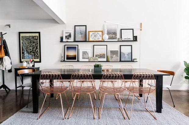 Sala de Jantar branca (Foto: Divulgação)