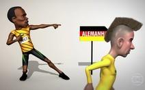 Bolt incentiva Neymar