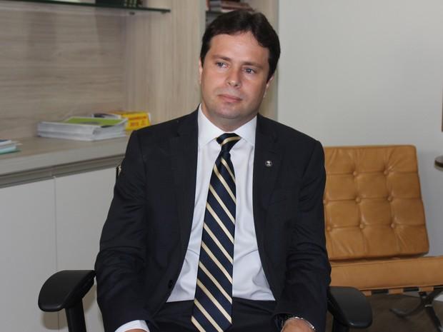 Juiz Leonardo Brasileiro proferiu sentença contra  (Foto: Gilcilene Araújo/G1)