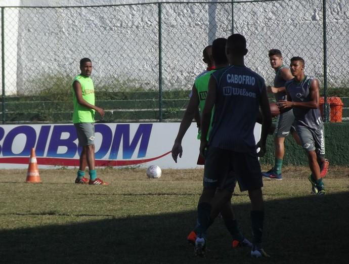 Cabofriense se prepara para a Copa Rio (Foto: Juan Andrade/ GloboEsporte.com)