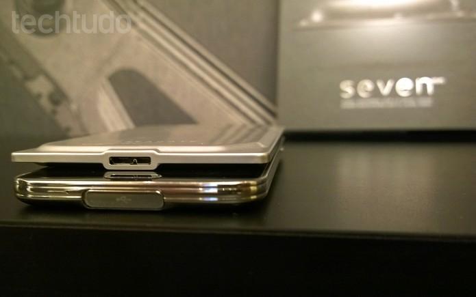 Seagate Seven: o HD externo mais fino do mundo (Foto: Fabrício Vitorino / TechTudo)