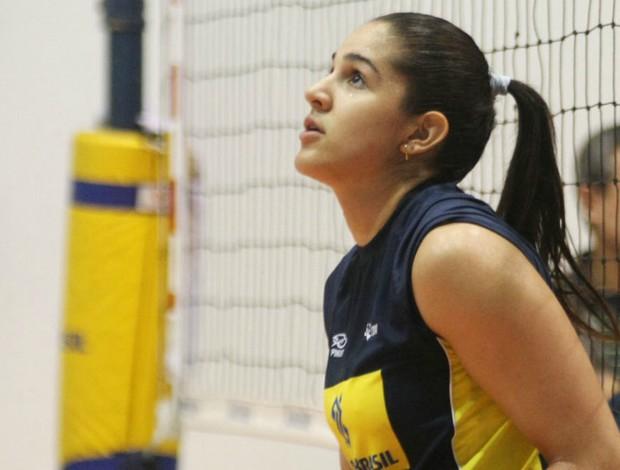 Natália seleção feminina de vôlei (Foto: Alexandre Arruda / CBV)