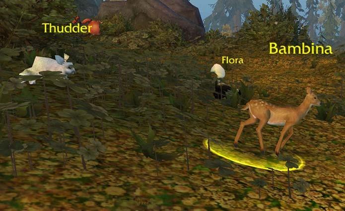 Bambi e sua família também foram alvo de um easter egg (Foto: Reprodução)