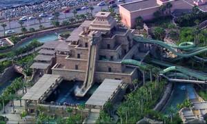 Mergulhe com Renata Ceribelli e divirta-se pelo parque aquático em Dubai