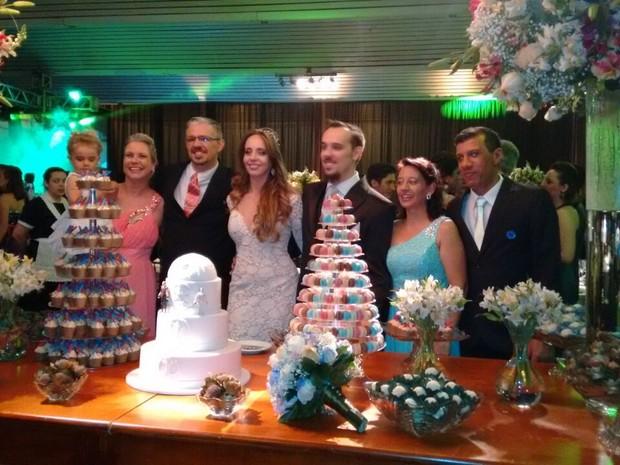 Casamento de psicólogos foi baseado na saga Star Wars em Araraquara (Foto: Ana Carolina Malandrino/ G1)