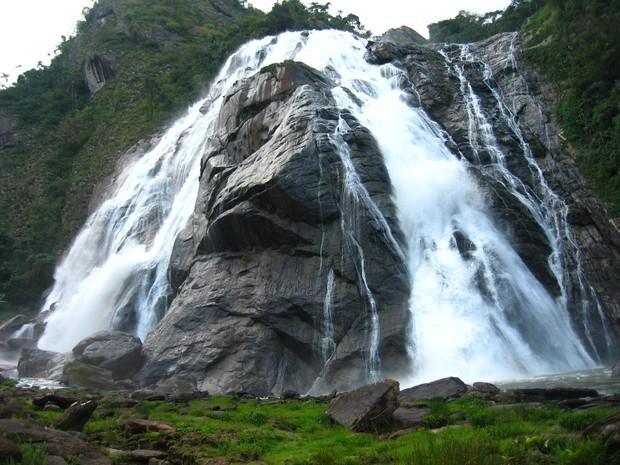 Parque da Cachoeira da Fumaça está fechado para visitações no Espírito Santo (Foto: Andressa Alcoforado/ A Gazeta)