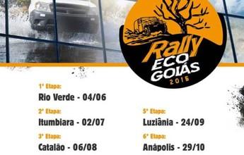 Confira o calendário de provas do  Rally Eco Goiás 2016