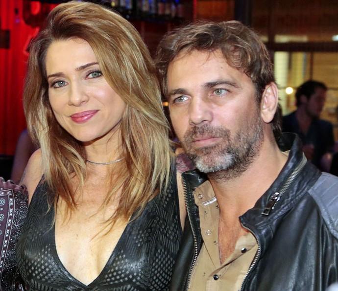Letícia Spiller e Marcelo Faria interpretam o casal (Foto: Felipe Monteiro/Gshow)