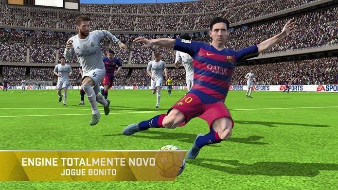 FIFa 16 possui visual parecido com as versões para PS3 e Xbox 360 (Foto: Divulgação / EA)