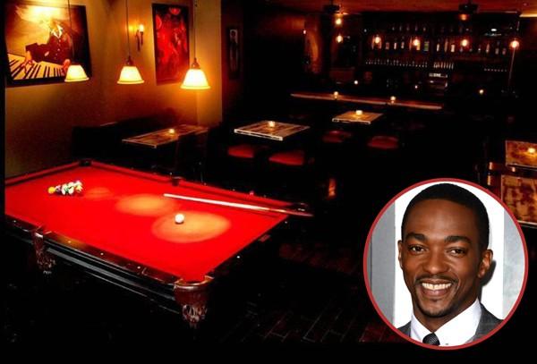 O ator Anthony Mackie é dono do NoBar, em Nova York desde 2011 (Foto: Getty Images / Divulgação)