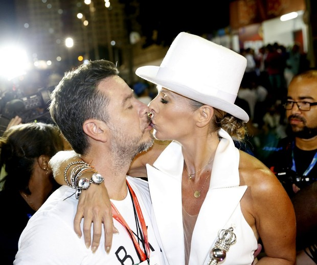 Alexandre Iódice e Adriane Galisteu (Foto: Marcos Serra Lima / EGO)
