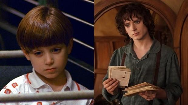 Elijah Wood em Avalon e O Hobbit: Uma Jornada Inesperada (Foto: Divulgação)